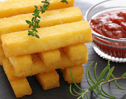 STICKS WITH BARBECUE SAUCE