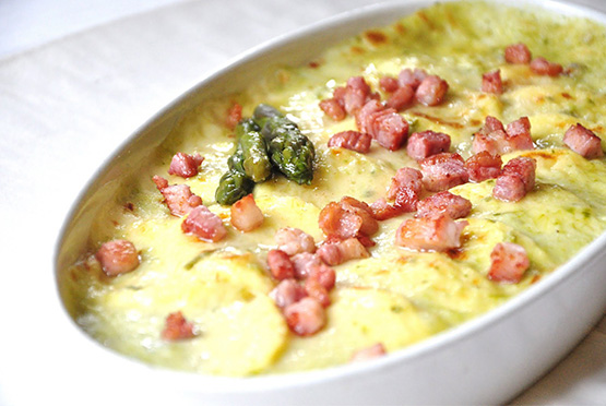 GNOCCHI ALLA ROMANA WITH BACON